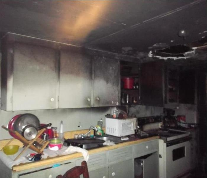 Enka, NC Kitchen Fire Before