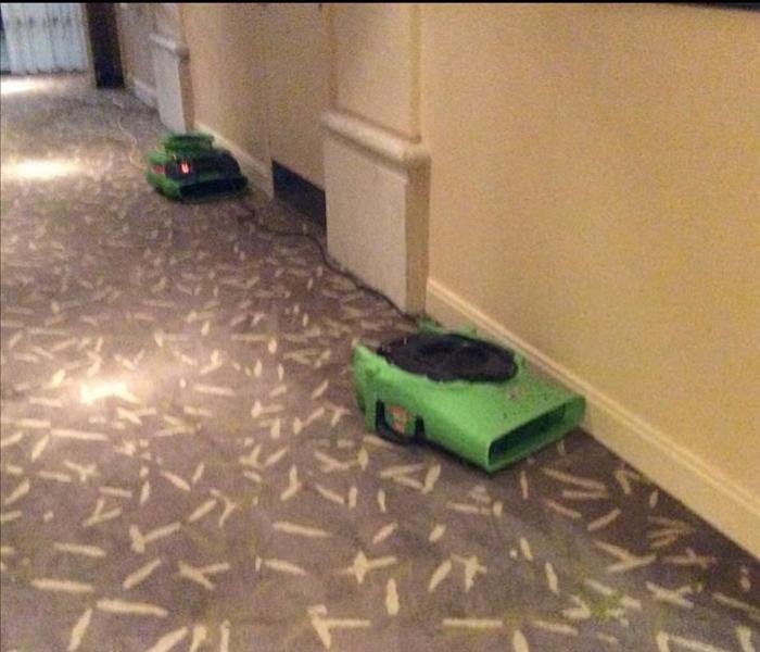 Commercial Water Damage – Candler Hotel Before