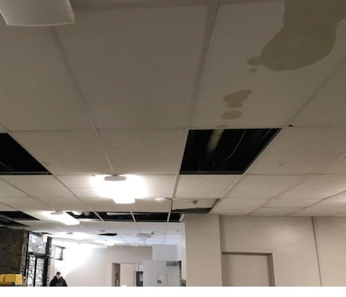 Commercial Roof Leak