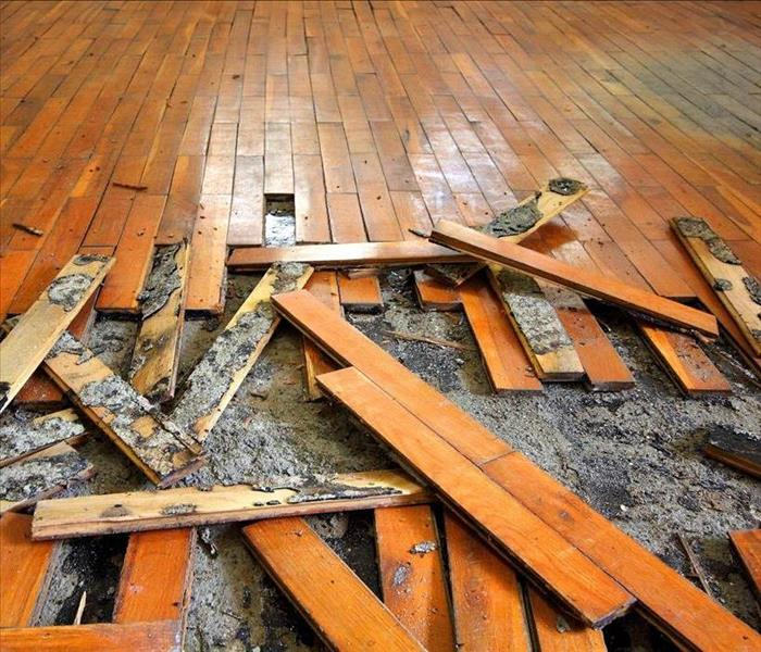 Water Damage What Happens to Wet Building Materials?